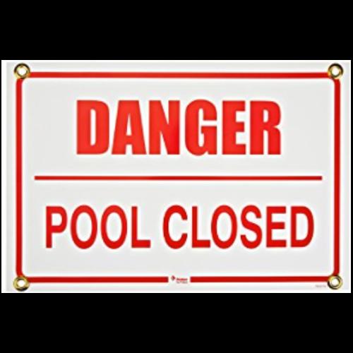 Danger Pool Closed 500px