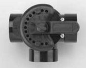 Diverter and check valve 2 of 3